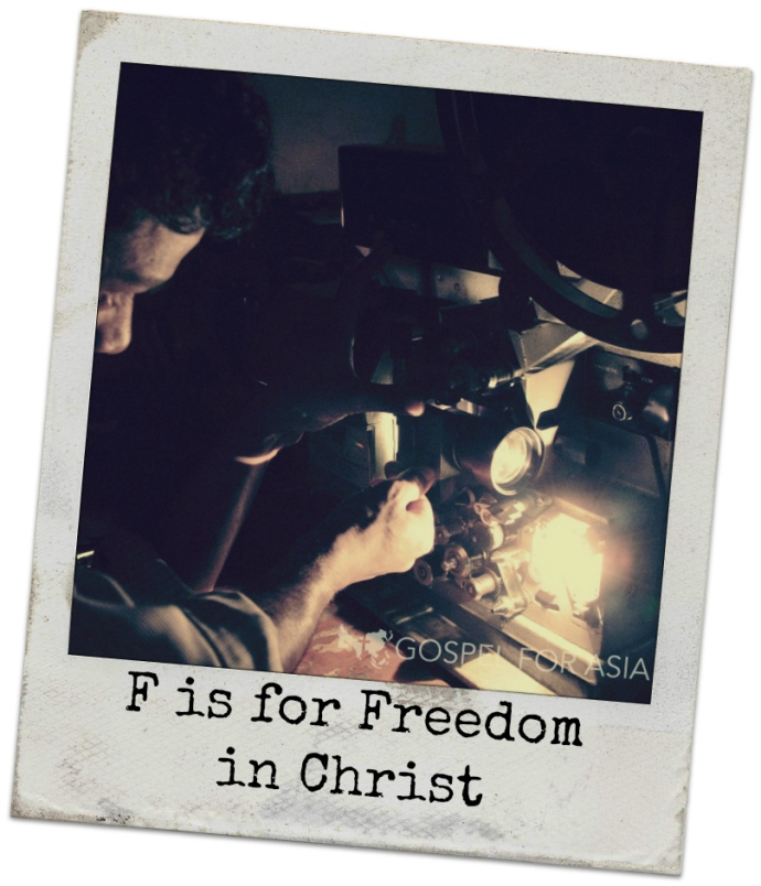 F is for Freedom in Christ