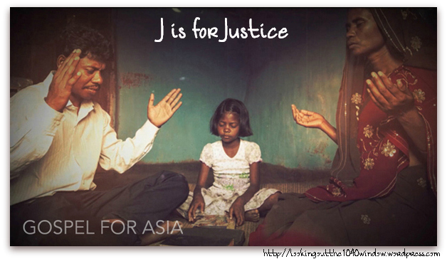 J is for Justice