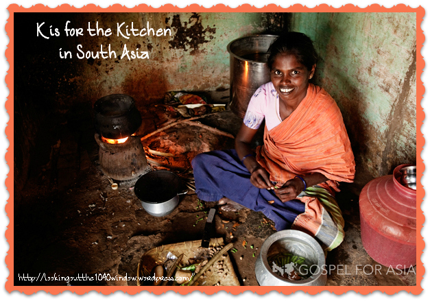 K is for the Kitchen in South Asia