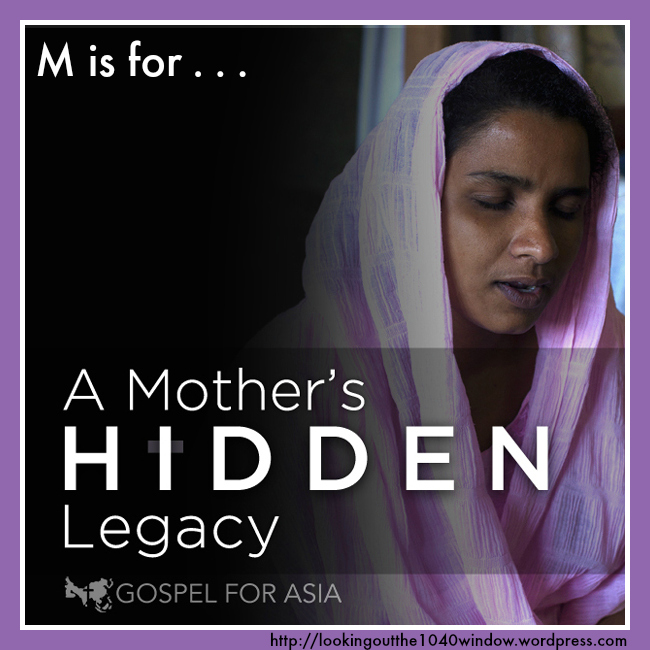 M is for A Mother's Hidden Legacy in South Asia